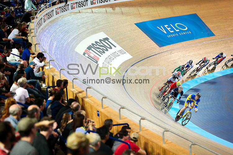 Picture by Alex Whitehead/SWpix.com - 25/02/2017 - Cycling - Tissot UCI Track Cycling World Cup - Velo Sports Center, Los Angeles, USA - Tissot branding.
