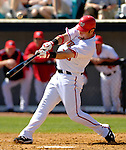 8 March 2006: Ryan Church, outfielder for the Washington Nationals, at bat during a Spring Training game against the St. Louis Cardinals. The Cardinals defeated the Nationals 7-4 in 10 innings at Space Coast Stadium, in Viera, Florida...Mandatory Photo Credit: Ed Wolfstein.