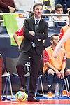 Osasuna Magna coach Imanol Arregui during Futsal Spanish Cup 2018 at Wizink Center in Madrid , Spain. March 15, 2018. (ALTERPHOTOS/Borja B.Hojas)