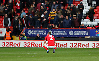 Adam Matthews of Charlton Athletic reaction the final whistle during Charlton Athletic vs Middlesbrough, Sky Bet EFL Championship Football at The Valley on 7th March 2020