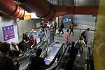 Estação do metro Consolaçao, São Paulo. Brasil. 2017. Foto de Juca Martins.