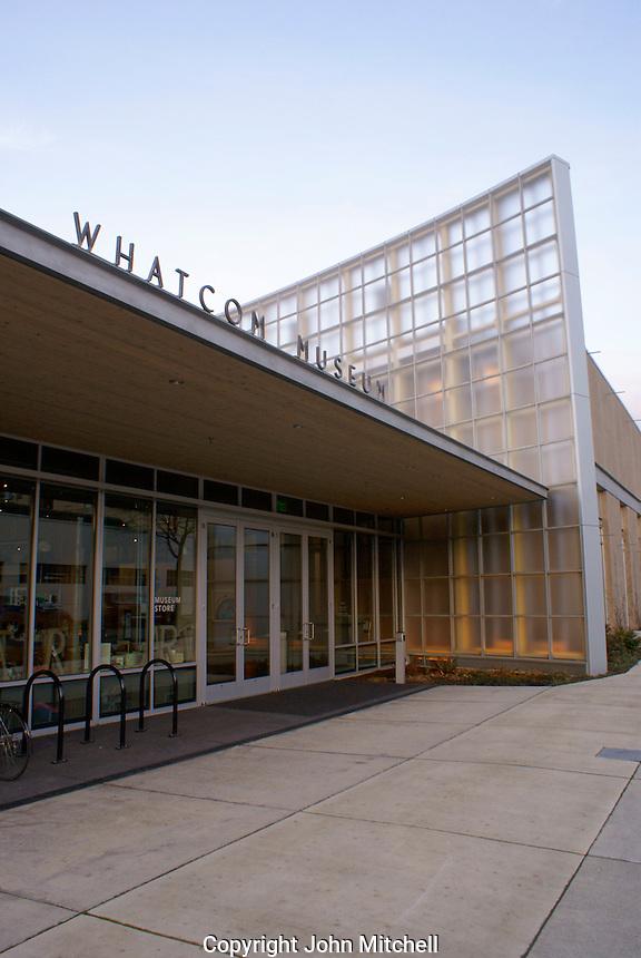 The Lightcatcher building, Whatcom County Museum,  Bellingham, Washington, USA...