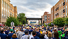 October 4, 2019; Pep rally before the game against Bowling Green (Photo by Matt Cashore/University of Notre Dame)
