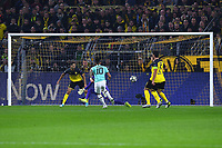 Football Champions League Group Phase 4 Matchday Borussia Dortmund Inter Milan on 05 11 2019 at Signal Iduna Park in Dortmund Goal to 0 1 by Lautaro Martinez Milan DFL Regulations prohibit any use of photographs as image sequences and or quasi video xRx<br /> Dortmund 5-11-2019 BVB Stadion <br /> Football Uefa Champions League 2019/2020 Group F Borussia Dortmund - FC Internazionale <br /> Photo Imago/Insidefoto
