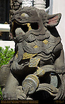 Koma-inu, Shishi, Lion-Dog, Temple Guardian, Kanteibyo Temple, Guan di Miao, Chinatown, Yokohama, Japan