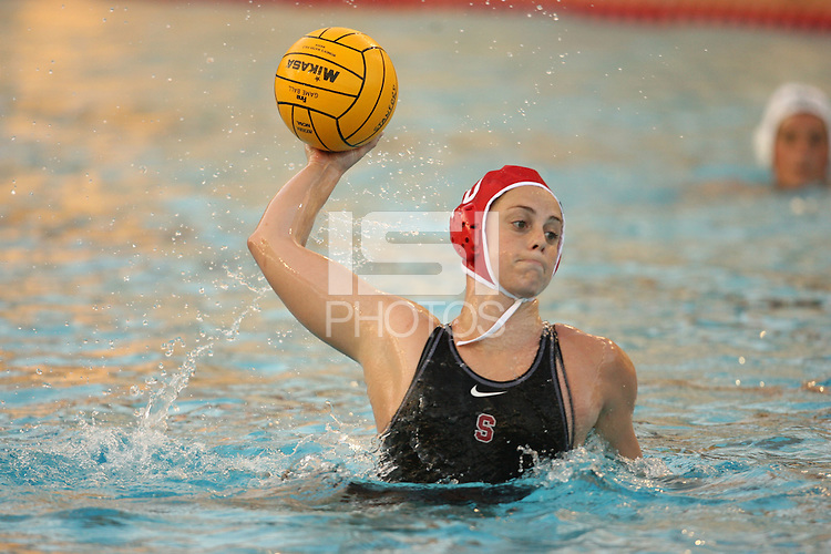 2 February 2007: Lauren Silver during Stanford's 10-6 win over Hawaii at the Avery Aquatic Center in Stanford, CA.