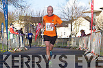 Verner Tess at the Valentines 10 mile road race in Tralee on Saturday.