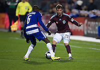 21 November 2010: FC Dallas defender Jackson Goncalves #6 and Colorado Rapids midfielder Jamie Smith #20 in action during the 2010 MLS CUP between the Colorado Rapids and FC Dallas at BMO Field in Toronto, Ontario Canada..The Colorado Rapids won 2-1 in extra time....