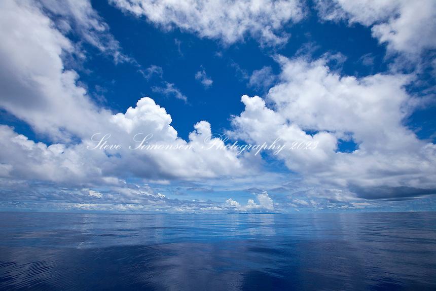 On the south drop looking towards St. Croix.Caribbean Sea.Virgin Islands