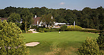 GROESBEEK - Golfbaan Rijk van Nijmegen. Nijmeegse baan . Green hole 18 met clubhuis. COPYRIGHT KOEN SUYK