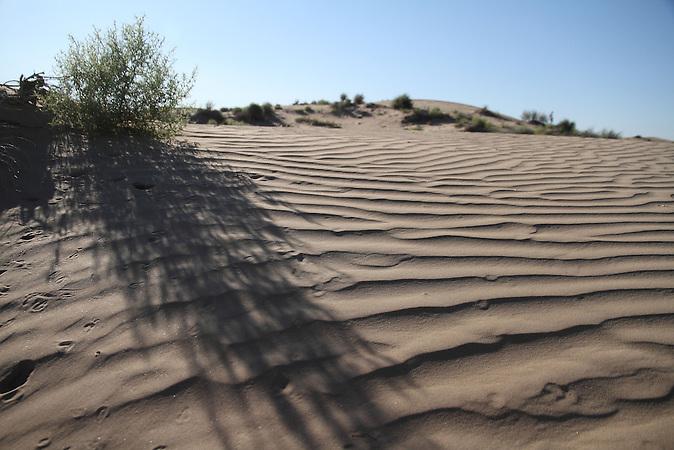Dünen im Ili-Delta