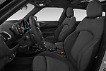 Front seat view of a 2018 Mini Clubman Cooper Kensington 5 Door Wagon front seat car photos