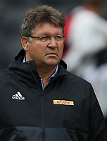 DURBAN, SOUTH AFRICA - MAY 27: Gert Smal (Director of Rugby) of the DHL Stormers during the Super Rugby match between Cell C Sharks and DHL Stormers at Growthpoint Kings Park on May 27, 2017 in Durban, South Africa. Photo by Steve Haag / stevehaagsports.com