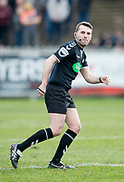 Picture by Allan McKenzie/SWpix.com - 11/03/2018 - Rugby League - Betfred Super League - Castleford Tigers v Salford Red Devils - the Mend A Hose Jungle, Castleford, England - Liam Moore, Referee, Specsavers, branding.