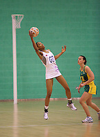 07 OCT 2009 - LOUGHBOROUGH, GBR - Layla Guscoth - Loughborough Lightning v Australian Diamonds (PHOTO (C) NIGEL FARROW)