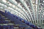 Il Palazzo delle Esposizioni ITALIA 61 al Parco del Valentino durante i Giochi Olimpici Torino 2006. La volta di Luigi Nervi...The Expo Palace ITALIA 61 in Valentino Park, during the Olympic Games 2006. The Luigi Nervi vault.