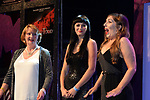 Karen McCourt, Baldoyle Musical Society, Dublin who won the Best Actress in a supporting role / Sullivan Section for for her role as 'Gertrude McFuzz in Seussical' is delighted at the announcement  at the Association of Irish Musical Societies (AIMS) annual awards in the INEC, Killarney at the weekend. <br /> Photo Don MacMonagle<br /> <br /> repro free photo AIMS<br /> Further info: Kate Furlong PRO kate.furlong84@gmail.com
