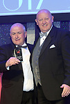 Pauric o'Brien, St Mel's MUsical Society Longford collecting his runner-up trophy for Best Programme for the show 'All Shook Up from  Seamus Power, Vice-President at the Association of Irish Musical Societies annual awards in the INEC, KIllarney at the weekend.<br /> Photo: Don MacMonagle -macmonagle.com<br /> <br /> <br /> <br /> repro free photo from AIMS<br /> Further Information:<br /> Kate Furlong AIMS PRO kate.furlong84@gmail.com