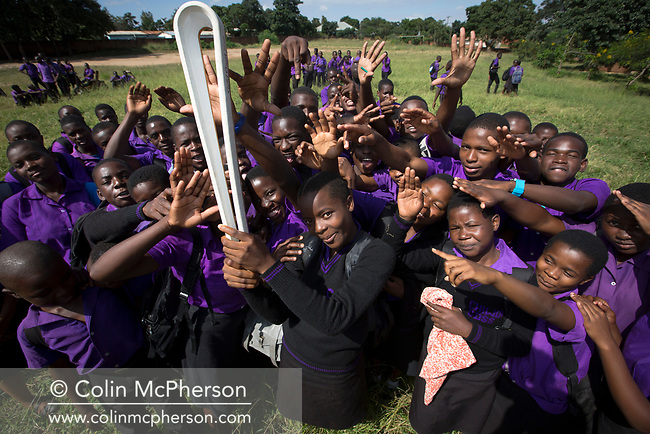 The Queen's Baton today visited two schools in Lilongwe, the country capital city, including this one, the Chiwoko LEA school, on April 24, 2017. This Queen's Baton Relay will visit all 70 nations and territories of the Commonwealth, over 388 days and cover 230,000km. It will be the longest Relay in Commonwealth Games history, finishing at the Opening Ceremony on the Gold Coast on 4th April 2018.