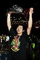 Takeki Shonaka (Alvark), .APRIL 22, 2012 - Basketball : .JBL FINALS 2011-2012 GAME 4 .between Aisin Sea Horses 64-83 Toyota Alvark .at 2nd Yoyogi Gymnasium, Tokyo, Japan. . With this victory Toyota Alvark won their first championship in 5 years..(Photo by YUTAKA/AFLO SPORT) [1040]