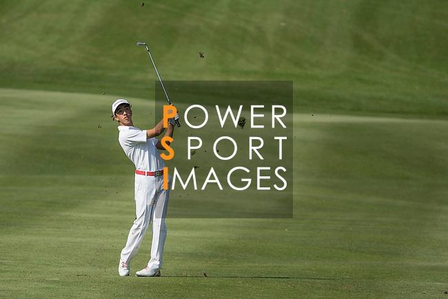 Yannick Nathan Artigolle of Hong Kong in action during the 58th UBS Hong Kong Golf Open as part of the European Tour on 08 December 2016, at the Hong Kong Golf Club, Fanling, Hong Kong, China. Photo by Vivek Prakash / Power Sport Images