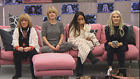 Amanda Barrie, Rachel Johnson, Malika Haqq, Ashley James<br /> Celebrity Big Brother 2018 - Day 4<br /> *Editorial Use Only*<br /> CAP/KFS<br /> Image supplied by Capital Pictures
