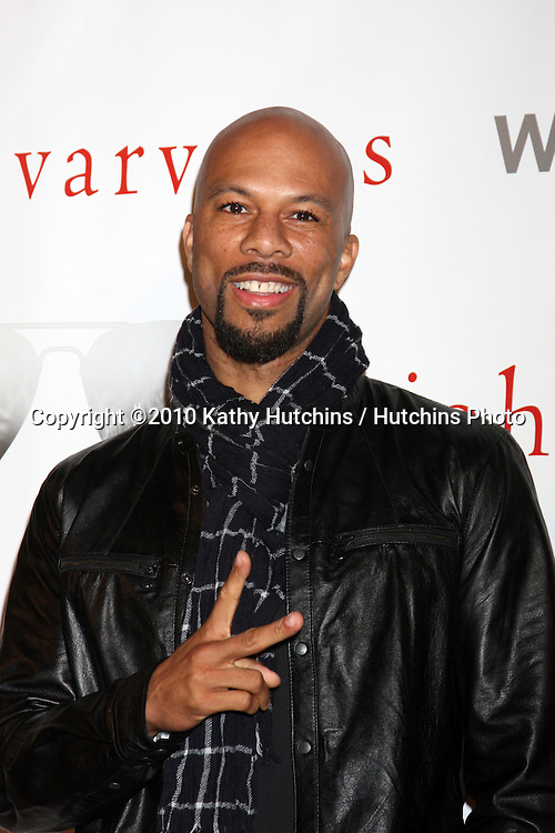 """Common.arriving at the """"We're All Fans"""" Event..John Varvatos Store.Los Angeles, CA.January 28, 2010.©2010 Kathy Hutchins / Hutchins Photo...."""