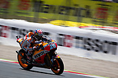 June 10th 2017,  Barcelona Circuit, Montmelo, Catalunya, Spain; MotoGP Grand Prix of Catalunya, qualifying day; Daniel Pedrosa of  Repsol Honda Team during the qualifying session