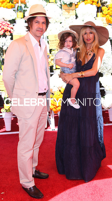 PACIFIC PALISADES, CA - OCTOBER 05: Rodger Berman, Skyler Morrison Berman and Rachel Zoe arrive at the 4th Annual Veuve Clicquot Polo Classic held at Will Rogers Polo Grounds on October 5, 2013 in Pacific Palisades, California. (Photo by Xavier Collin/Celebrity Monitor)