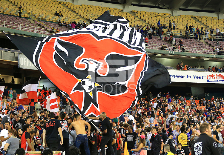 Washington,D.C. - Saturday, September 24  2016: D.C United defeated Orlando City SC 4-1 in a MLS match at RFK Stadium..