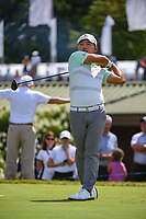 Sung Kang (USA) watches his tee shot on 12 during Rd4 of the 2019 BMW Championship, Medinah Golf Club, Chicago, Illinois, USA. 8/18/2019.<br /> Picture Ken Murray / Golffile.ie<br /> <br /> All photo usage must carry mandatory copyright credit (© Golffile | Ken Murray)