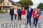 Standing at O'Sullivan's Bar in Fenit on Monday.<br /> Front l to r: Cllr: Pa Daly, James Lynch and Issei Kawai.<br /> Back l to r: Lorraine Kawai, Cllr: Toiréasa Ferris, Mikey Moriarty and Elizabeth Lynch.