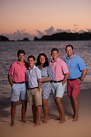 Marc-Susan-Ben-Will and Luke at the Fairmont