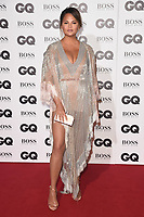 LONDON, UK. September 05, 2018: Chrissie Teigan at the GQ Men of the Year Awards 2018 at the Tate Modern, London