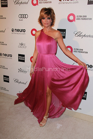WEST HOLLYWOOD, CA - FEBRUARY 22: Lisa Rinna at the 2015 Elton John AIDS Foundation Oscar Party in West Hollywood, California on February 22, 2015. Credit: David Edwards/DailyCeleb/MediaPunch