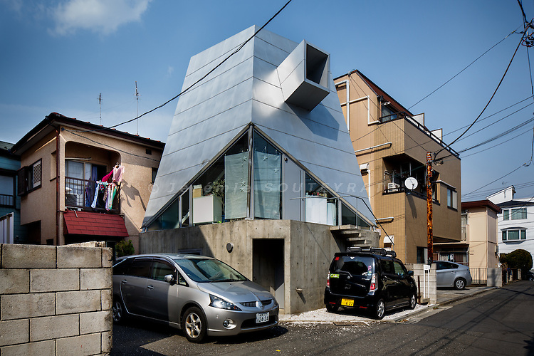 Tokyo, March 8 2013 - House without a kitchen by Atelier Takuo Iizuka.