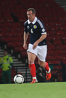 Charlie Adam in the Scotland v Macedonia FIFA World Cup Qualifying match at Hampden Park, Glasgow on 11.9.12.