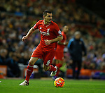 Dejan Lovren of Liverpool in action - English Premier League - Liverpool vs Manchester City - Anfield Stadium - Liverpool - England - 3rd March 2016 - Picture Simon Bellis/Sportimage