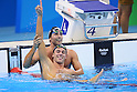 (L-R) Gabriele Detti (ITA), Gregorio Paltrinieri (ITA), <br /> AUGUST 13, 2016 - Swimming : <br /> Men's 1500m Freestyle Final <br /> at Olympic Aquatics Stadium <br /> during the Rio 2016 Olympic Games in Rio de Janeiro, Brazil. <br /> (Photo by Yohei Osada/AFLO SPORT)