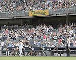 Masahiro Tanaka (Yankees), JULY 9, 2015 - MLB : New York Yankees starting pitcher Masahiro Tanaka is pulled during the eighth inning of a baseball game against the Oakland Athletics at Yankee Stadium in New York, United States. (Photo by AFLO)