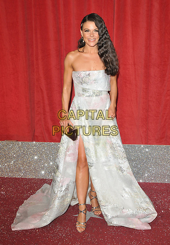 Faye Brookes at the British Soap Awards 2019, The Lowry Theatre, Pier 8, The Quays, Media City, Salford, Manchester, England, UK, on Saturday 01st June 2019.<br /> CAP/CAN<br /> ©CAN/Capital Pictures