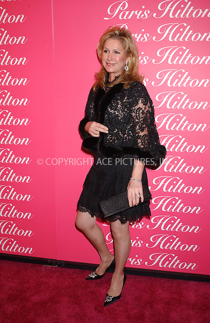 WWW.ACEPIXS.COM . . . . . ....NEW YORK, FEBRUARY 9, 2005....Kathy Hilton at the launch of Paris Hilton's new fragrance at Duvet.......Please byline: KRISTIN CALLAHAN - ACE PICTURES.. . . . . . ..Ace Pictures, Inc:  ..Philip Vaughan (646) 769-0430..e-mail: info@acepixs.com..web: http://www.acepixs.com