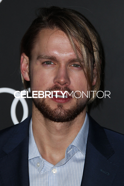 LOS ANGELES, CA - JANUARY 09: Chord Overstreet at the Audi Golden Globe Awards 2014 Cocktail Party held at Cecconi's Restaurant on January 9, 2014 in Los Angeles, California. (Photo by Xavier Collin/Celebrity Monitor)