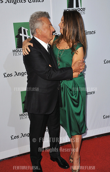 Dustin Hoffman & wife Lisa at the 16th Annual Hollywood Film Awards at the Beverly Hilton Hotel..October 22, 2012  Beverly Hills, CA.Picture: Paul Smith / Featureflash