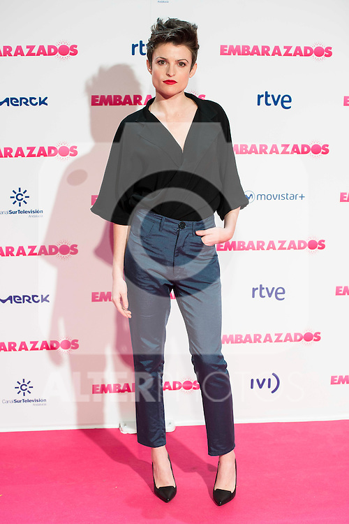 Maria Ordo&ntilde;ez attends to the premiere of the film &quot;Embarazados&quot; at Capitol Cinemas in Madrid, January 27, 2016.<br /> (ALTERPHOTOS/BorjaB.Hojas)