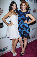 """HOLLYWOOD, CA - NOVEMBER 19: Allison Paige, Andrea Bowen arriving at the """"G.B.F."""" Los Angeles Premiere held at the Chinese 6 Theater Hollywood on November 19, 2013 in Hollywood, California. (Photo by David Acosta/Celebrity Monitor)"""
