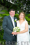 Siobhan Meehan, Listowel, daughter of Michael and Joan Meehan, and Maurice O'Mahony, Asdee, son of Jimmy and Peggy O'Mahony were married at Listowel Church by Canon Declan O'Connor on Friday 15th July 2016 with reception at Ballygarry House Hotel
