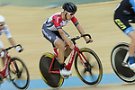 Leung Chun Wing (C) of the SCAA competes in the Men Elite - Scratch 10km Final category during the Hong Kong Track Cycling National Championships 2017 at the Hong Kong Velodrome on 18 March 2017 in Hong Kong, China. Photo by Chris Wong / Power Sport Images