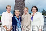 Vera O'sullivan, Ann McKenna, Geraldine Murphy and Joan Connors at the round tower unveiling in Glenbeigh on Saturday night