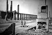 Ruins of Northwestern depot,  Charleston.  1865. Selmar Rush Seibert. (War Dept.)<br /> Exact Date Shot Unknown<br /> NARA FILE #: 165-SC-780<br /> WAR & CONFLICT BOOK #:  244